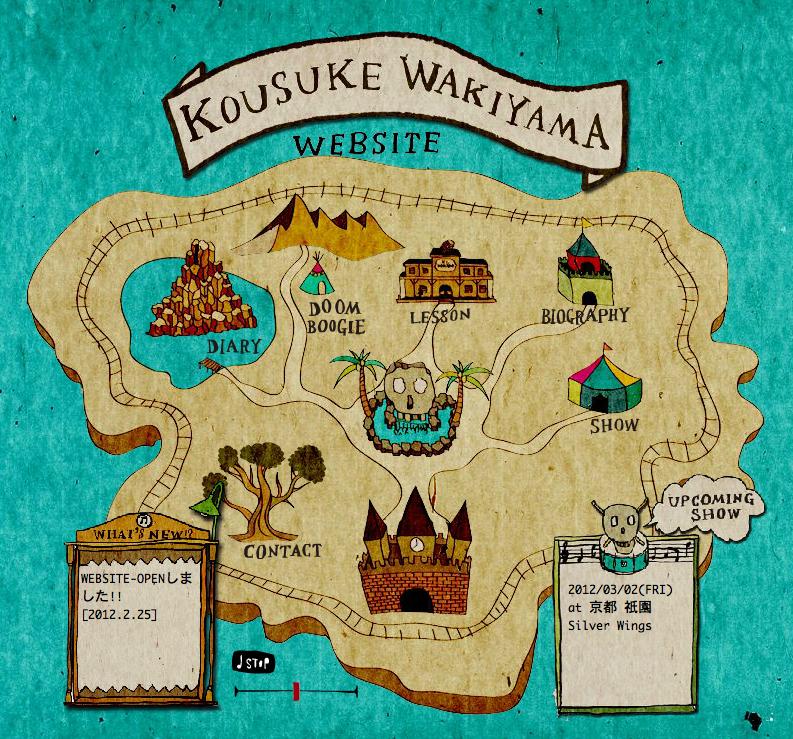 Kousuke Wakiyama[website / 2012] http://kousukewakiyama.com